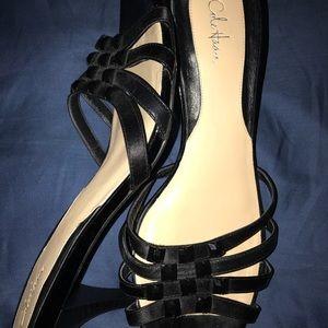 Perfect summer black sandals